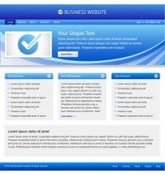 business company website vector image