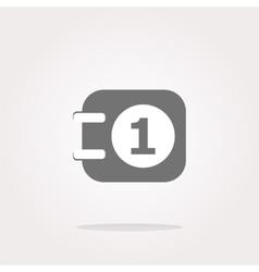 calendar web icon vector image vector image