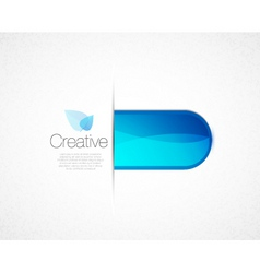 Creative tab vector