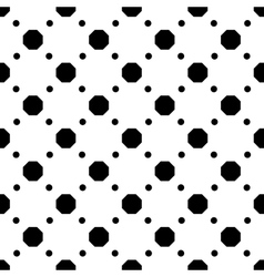 Polka dot geometric seamless pattern 3510 vector image