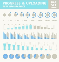 Pregress and uploading vector