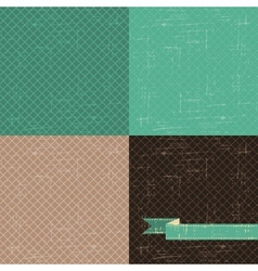 Seamless abstract retro pattern Stylish grunge vector image