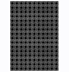 Square tile block pattern vector image vector image