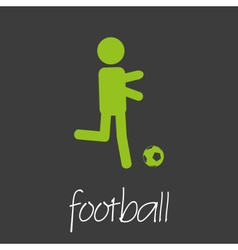 Football sport commercial design banner and vector