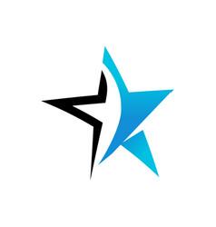 Modern star vector