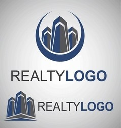 Realty logo 8 2 vector