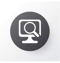 scan computer icon symbol premium quality vector image vector image
