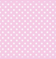 Simple seamless polka dot background vector