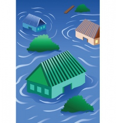 Natural disaster vector