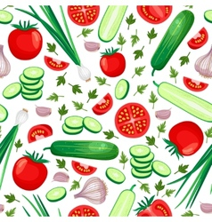 Healthy food background vector