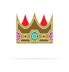 Crown icon4 vector