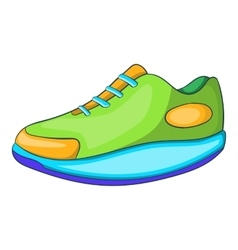 Athletic shoe icon cartoon style vector image vector image