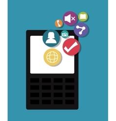 Mobile applications entertainment vector