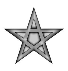 Pentagram icon sign vector