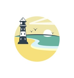Lighthouse-380x400 vector image