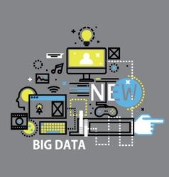 Mobile cloud computingflat design banners vector