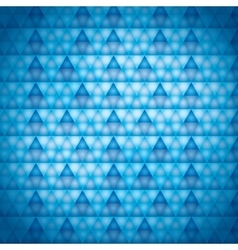 Background blue triangles vector