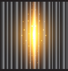 background image of the black curtain is open vector image