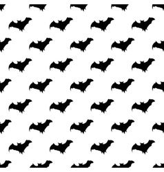 Bat pattern seamless vector