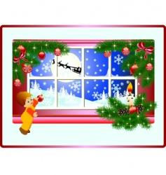 christmas story vector image