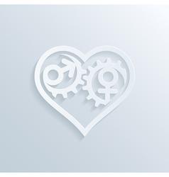 Love gears 3 vector
