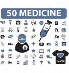 Medicine signs vector