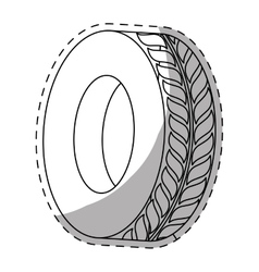 Tire icon image vector