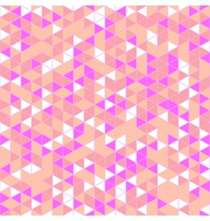 Triangle Mosaic Seamless Pattern vector image