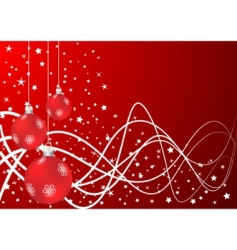 vector Christmas background vector image