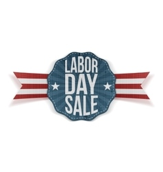 Labor day sale decorative banner vector