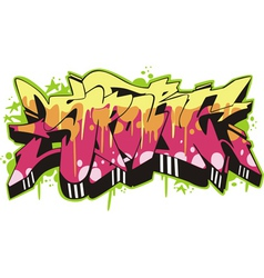 Graffito - sport vector