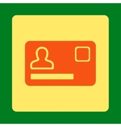 Banking card icon vector