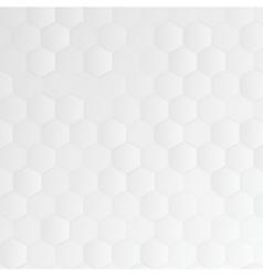 Abstract 3d hexagonal vector