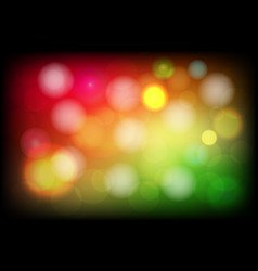 bright bokeh beautiful abstract background vector image