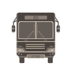 bus city passenger icon transport design isolated vector image