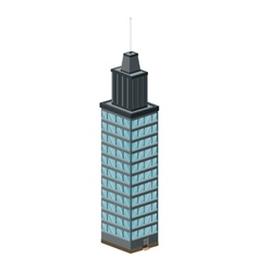 city building icon vector image