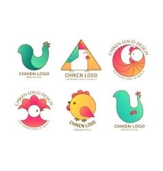 Chiken logo vector