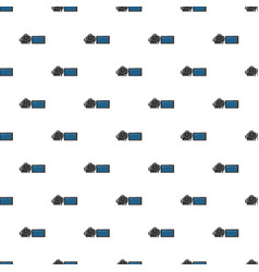 Digital video camera pattern vector