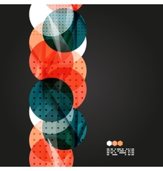 light geometric compositions vector image