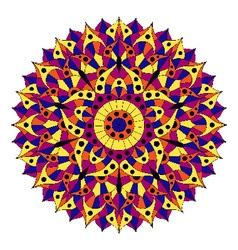 Pattern with chakra manipura vector