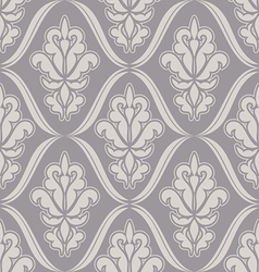 Damask beautiful background vector image