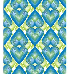 Bright ornate pattern with graphic lines symmetric vector