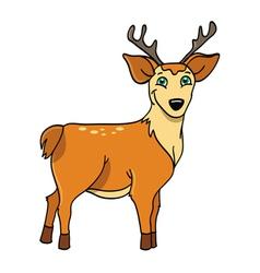 deer buck vector image vector image