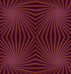 Seamless swirling rays pattern background design vector