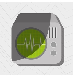 Medical icon design vector