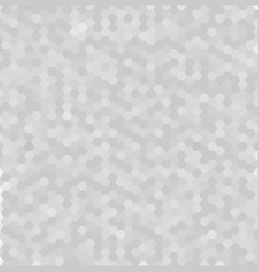 abstract white and gray 3d hexagonal pattern vector image vector image