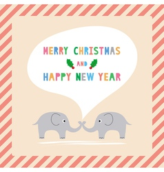 Mc and hny greeting card11 vector