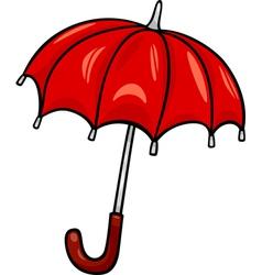umbrella clip art cartoon vector image vector image