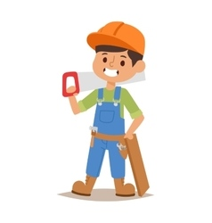 Builders kid vector