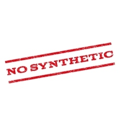 No synthetic watermark stamp vector